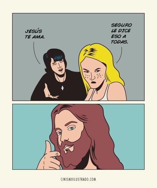 Es lo que tengo, no creo en Dios