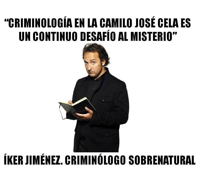 La Universidad Camilo Jose Cela, un desafío al misterio