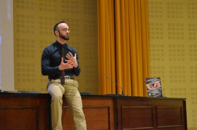Jorge Ramiro o el profesor que enseña criminología con poemas