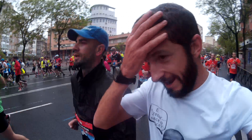 ¿A quién se le ocurrió la maravillosa idea de correr el maratón de Madrid?