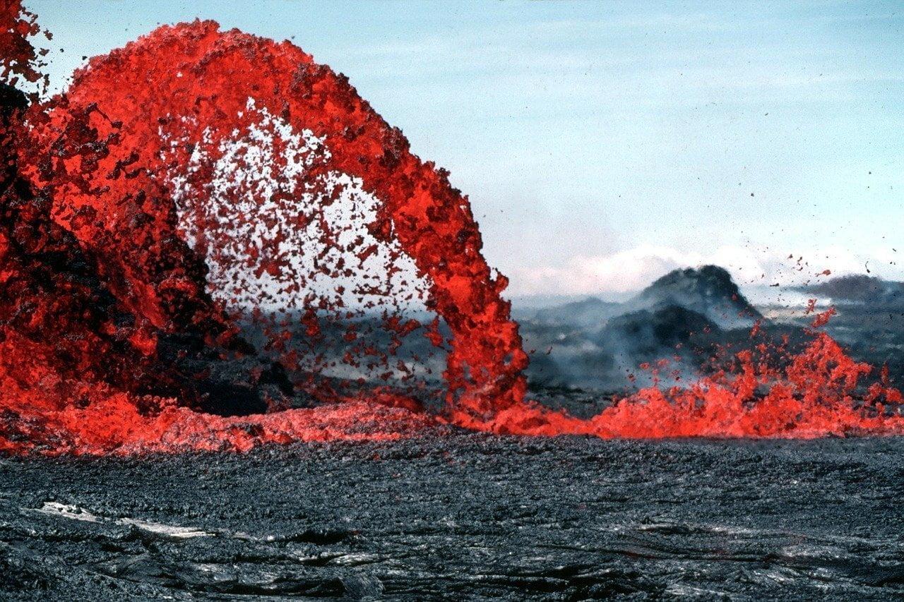 La metáfora del volcán y la violencia