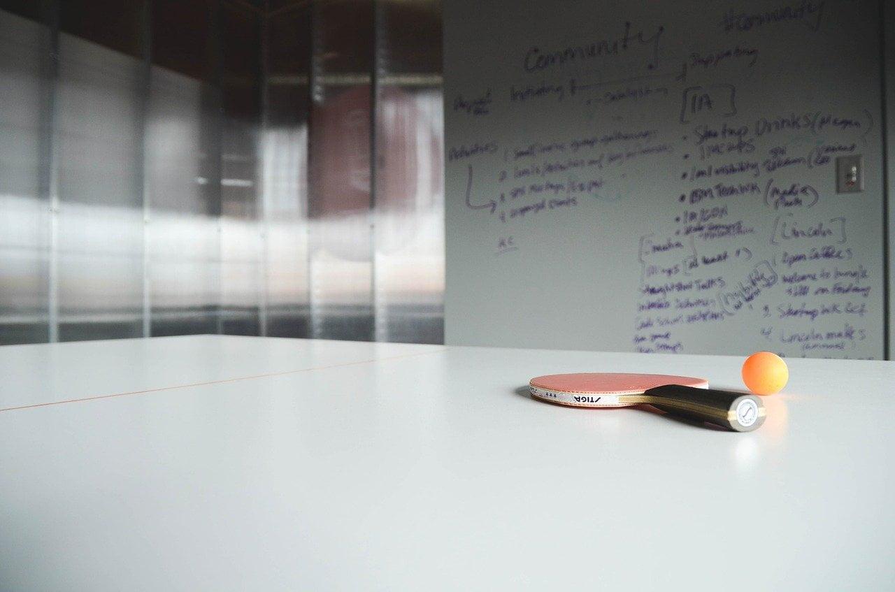 ¿Para qué quiero yo una mesa de ping-pong en mi oficina?