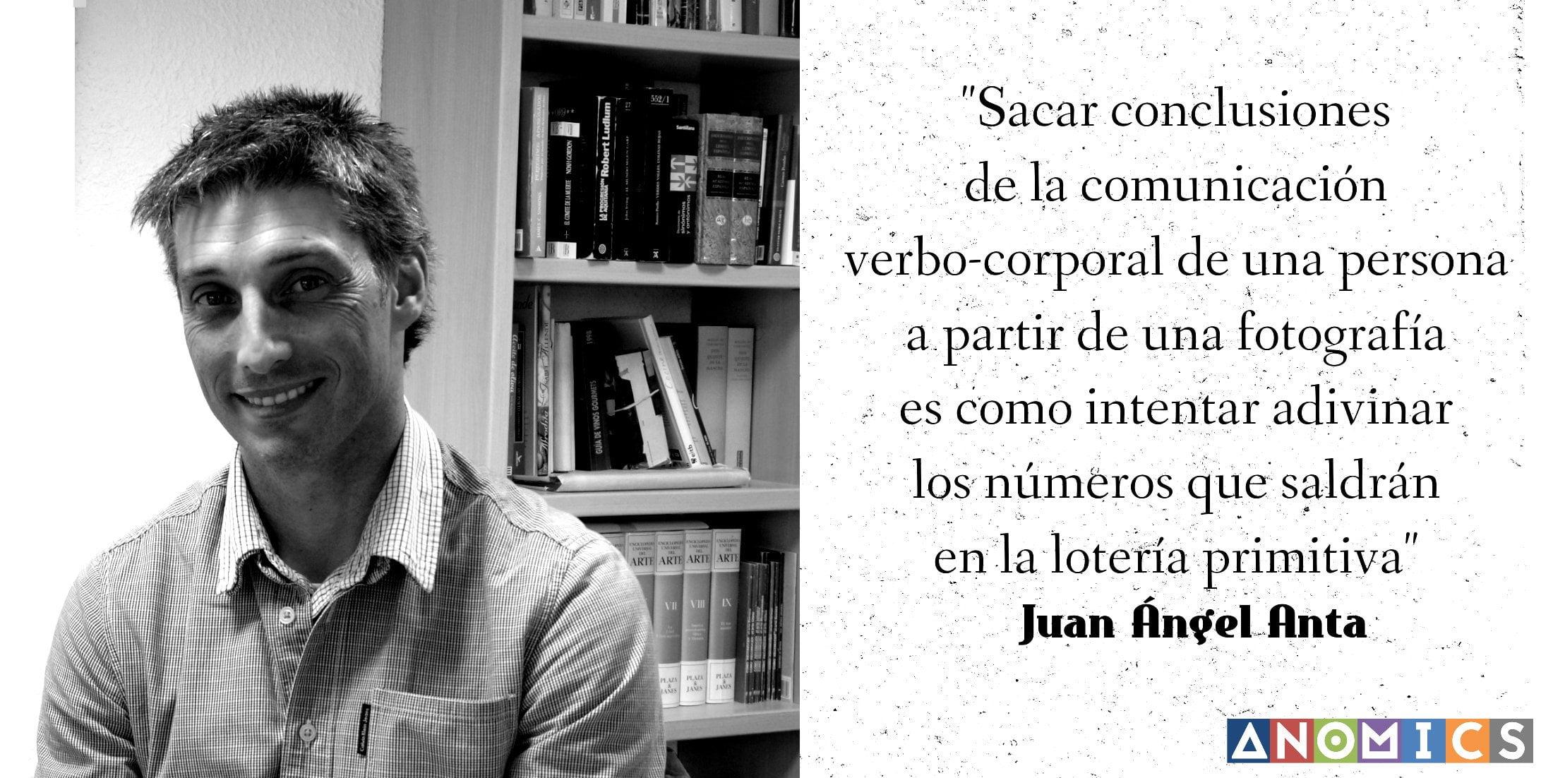 Entrevista a Juan Ángel Anta en ANOMICS